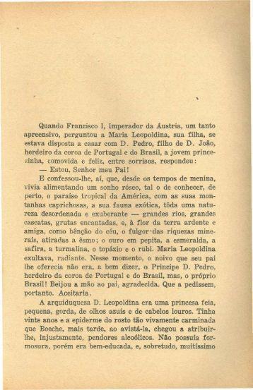 Leopoldina, por Luiz Edmundo - Rememorarte