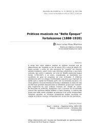 """Práticas musicais na """"Belle Époque"""" - Revista de História"""