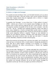 Valor Econômico, 1/04/2011 Eliana Cardoso