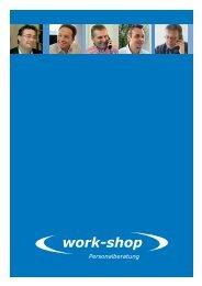 Firmendokumentation Schweiz - Work-Shop Personalmanagement ...
