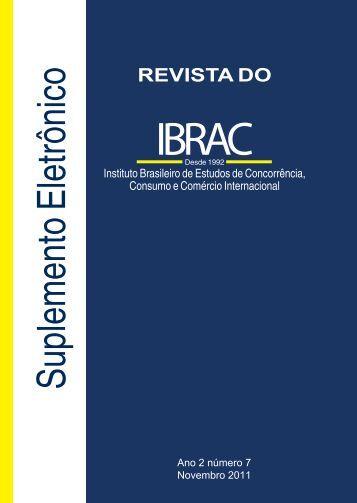 Suplemento Revista do Ibrac 07 2011