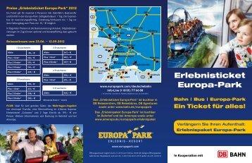 Erlebnisticket Europa-Park