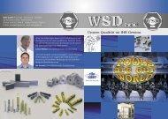Imagebroschüre - WSD Werkzeuge-Schrauben-Drehteile GmbH