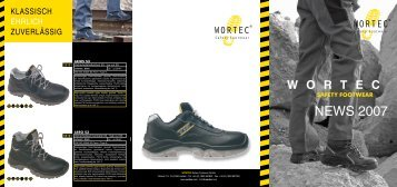 News 2007 - Wortec Sicherheitsschuhe GmbH