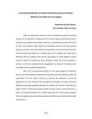 2000 A memória relembrada no (res)sentimento dos ... - FALE - UFMG