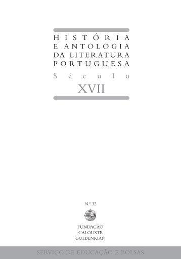 História e Antologia da Literatura Portuguesa Século XVII - Leitura ...