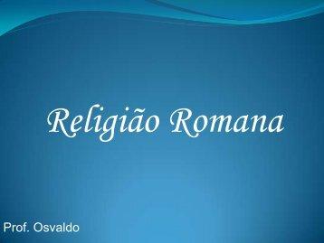 Religião Romana - Sagrado - Rede de Educação