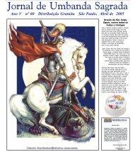 Ano 6 Ed 060 Abr 2005 - Colégio de Umbanda Sagrada Pena Branca
