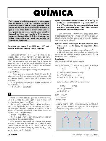 Quimica Unicamp_2aF - Curso Objetivo