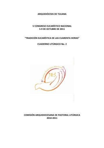 Cuaderno Litúrgico - Arquidiócesis de Tijuana