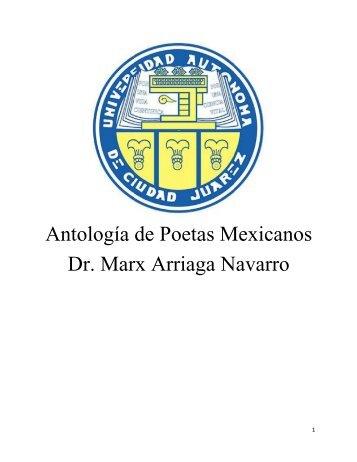 Antología propuesta - voz y verso