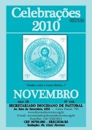 celebrações nov 2010.pmd - Diocese de Erexim