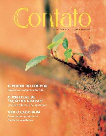 """""""ação de graças"""" ver o lado bom - Revista Contato"""