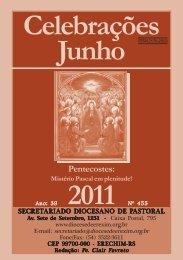 celebrações junho 2011.pmd - Diocese de Erexim