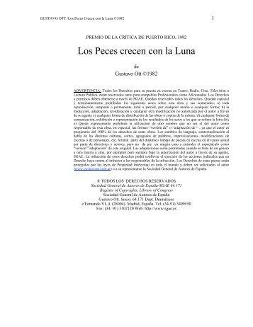 Los Peces Crecen con la Luna - Gustavo Ott
