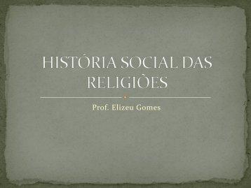 História Social das Religiões - Documento sem título