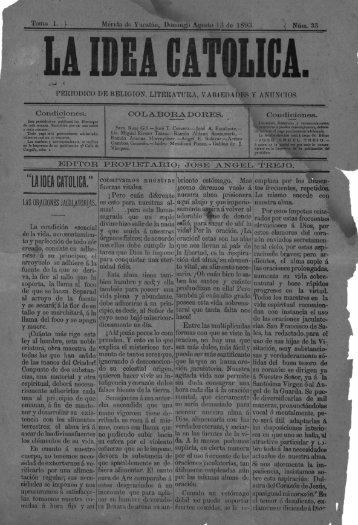 PERIoDIeo DE nELIeIoN, LITERATURA, VARIEDADES Y ANUNCIOS.