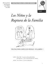 Los Niños y la Ruptura de la Familia - The Tearfund International ...