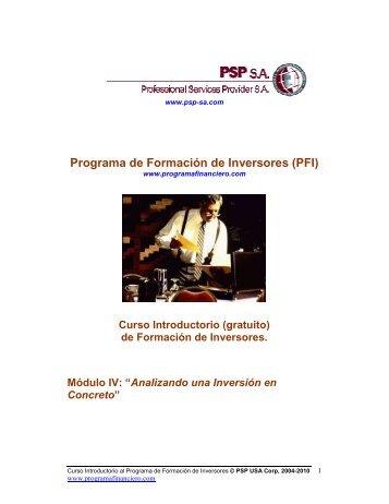 Descargar Documento PFI_Mod-4.PDF - Programa de Formacion ...