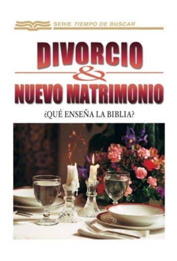 Divorcio y nuevo matrimonio