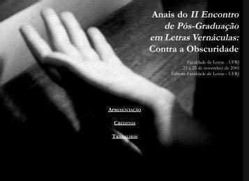 Congresso Rosa - Faculdade de Letras - UFRJ