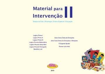 Material para Intervenção II - Oficina Didáctica