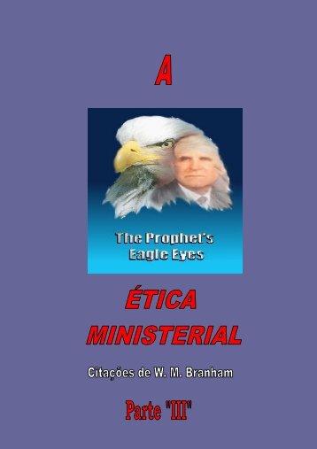 ETICA MINISTERIAL PARTE 3 - Tabernáculo A Voz de Deus
