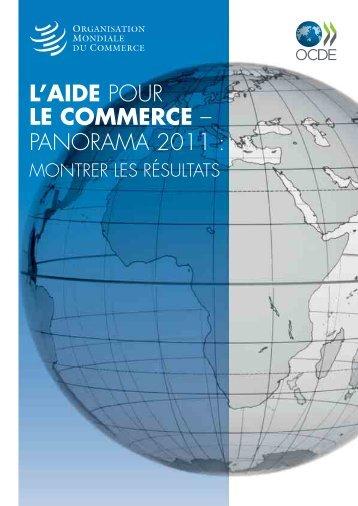 L'AIDE POUR LE COMMERCE – PANORAMA 2011 :