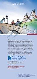 Fahrrad-Parkplatz WPark&Ride auf Bike-Niveau - Stadt Würzburg