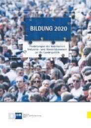 Bildung 2020 - Sisby