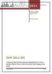 2011 [SHP 2011-29] - Stadt Würzburg