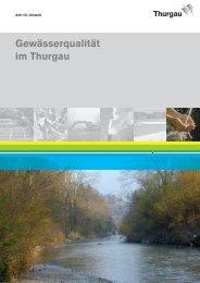 Gewässerqualität im Thurgau - Amt für Umwelt des Kanton Thurgau