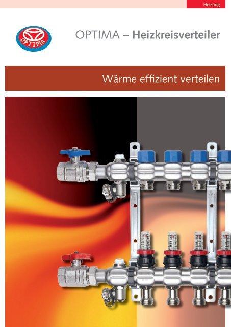 OPTIMA – Heizkreisverteiler - Heinrich Schmidt GmbH & Co. KG