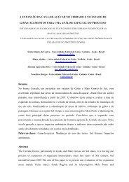 A Expansão da Cana-de-açúcar no Cerrado - LABOGEF - UFG