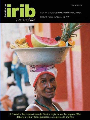 II Encontro ibero-americano de Direito registral em ... - IRIBNET