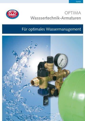 Für optimales Wassermanagement - Heinrich Schmidt GmbH & Co ...