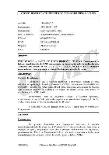 Microsoft Word - 15030022\252.doc - Secretaria de Estado de ...