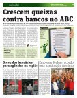 Serviços bancários tiram morador do ABC do sério - Metro - Page 3
