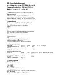 Syntholube CE SAE 75W-90 - Wunsch Öle GmbH