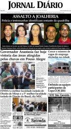 ASSALTO A JOALHERIA - Jornal Diario