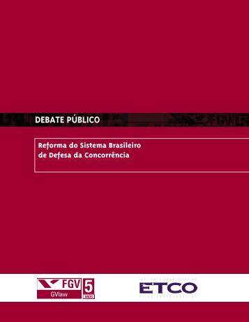 DEBATE PÚBLICO Reforma do Sistema Brasileiro de ... - ETCO
