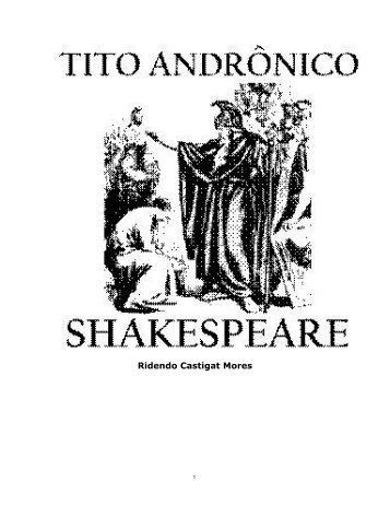 Tito Andrônico (Titus Andronicus) - eBooksBrasil