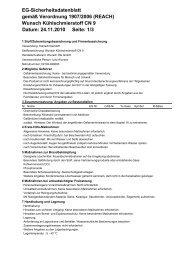 1/3 EG-Sicherheitsdatenblatt gemäß Verordnung 1907/2006 (REACH)