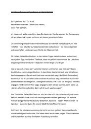 Verleihung Bundesverdienstkreuz an Herrn Bertram ... - Stadt Wunstorf
