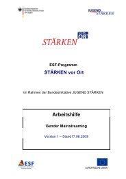 Arbeitshilfe Gender Mainstreaming - Stadt Bamberg