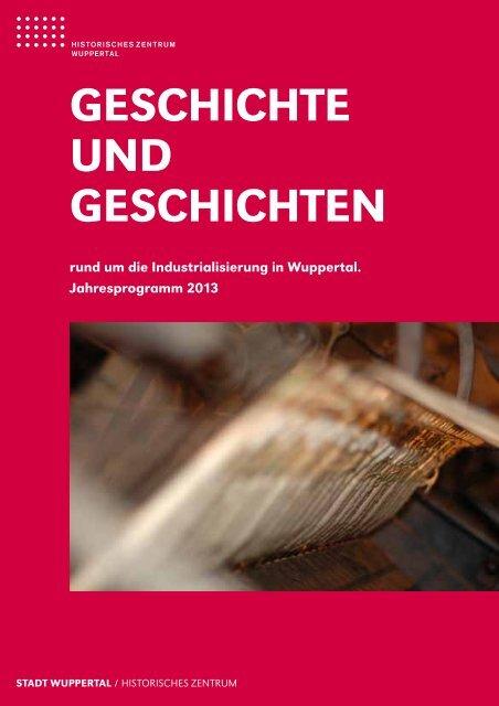Jahresprogramm 2013 - Stadt Wuppertal