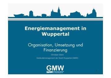 "Vortrag ""Energiemanagement"" im Format PDF - Stadt Wuppertal"