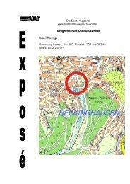 Expose Chamissostraße - Stadt Wuppertal