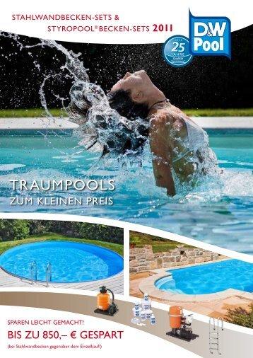 Hier können Sie unseren Katalog Traumpools zum kleinen Preis ...