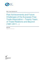 Past Achievements and Future Challenges of the European Free ...